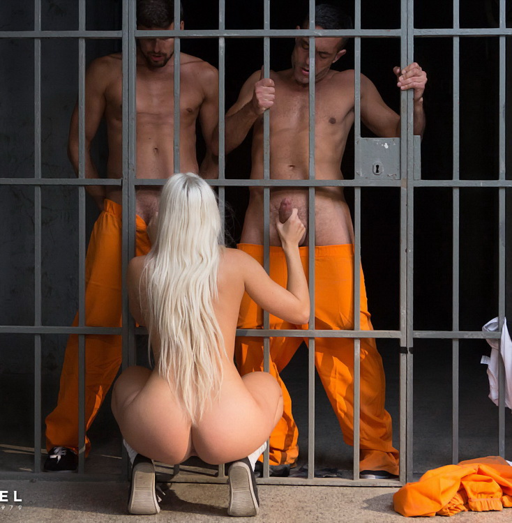 DorcelClub - Blanche Bradburry - Young Inmate Offered To Prisoners Craving Hard Sex (1080p/FullHD)