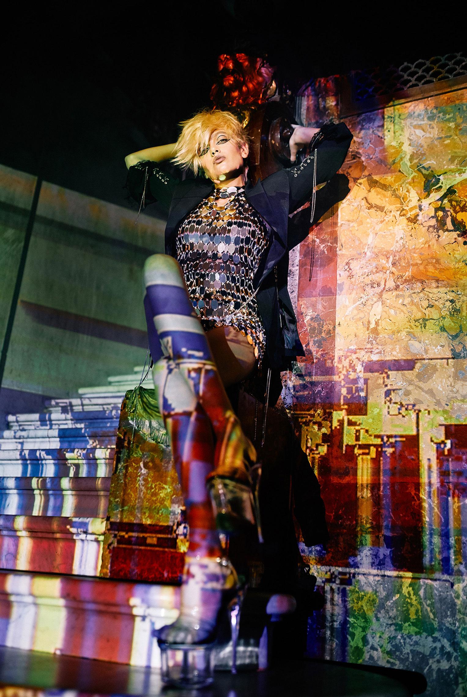 Рок-концерт в рекламной кампании модного бренда LouLou, осень-зима 2019 / фото 12