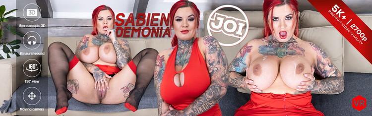 CzechVRFetish: Sabien DeMonia - Jerk-off to her Tits [UltraHD 4K 2700p] (4.13 GB)