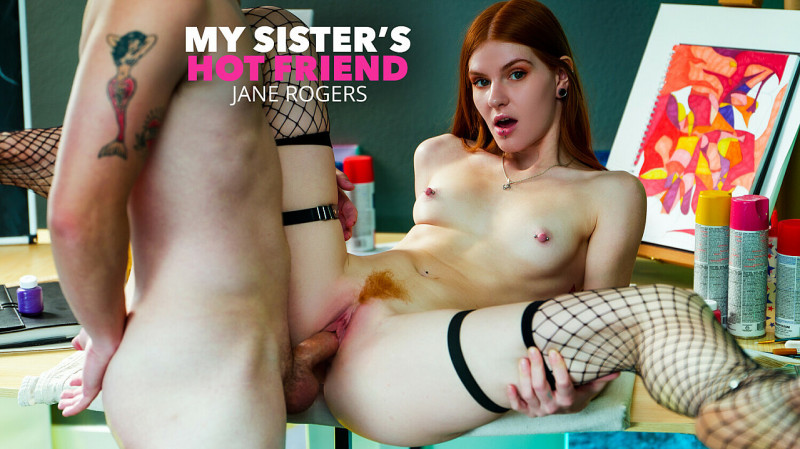 Jane Rogers - Super hot and slutty redhead jane rogers fucks in the classroom (MySistersHotFriend.com/NaughtyAmerica.com/2K UHD) - Flashbit