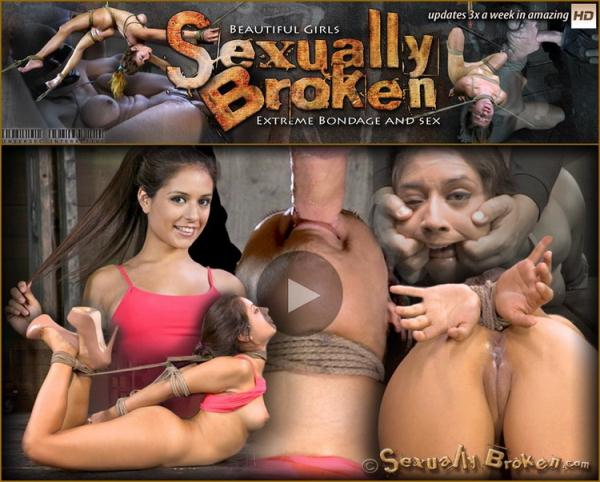 Jynx Maze, Matt Williams - Hot Latino Jynx Maze suffers Rope Bondage is Deep Throated, Roughly Fucked Hogtied, Made to Cum [HD 720p] 2021