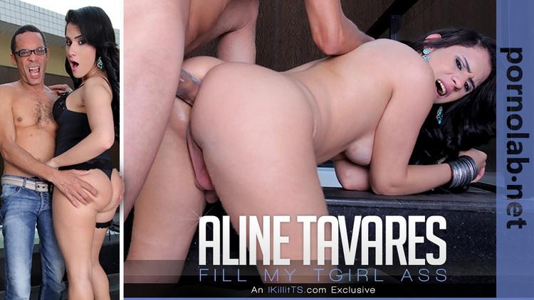 Aline Tavares, Ramon. ~ Fill my TGirl Ass ~ Trans500 ~ FullHD 1080p