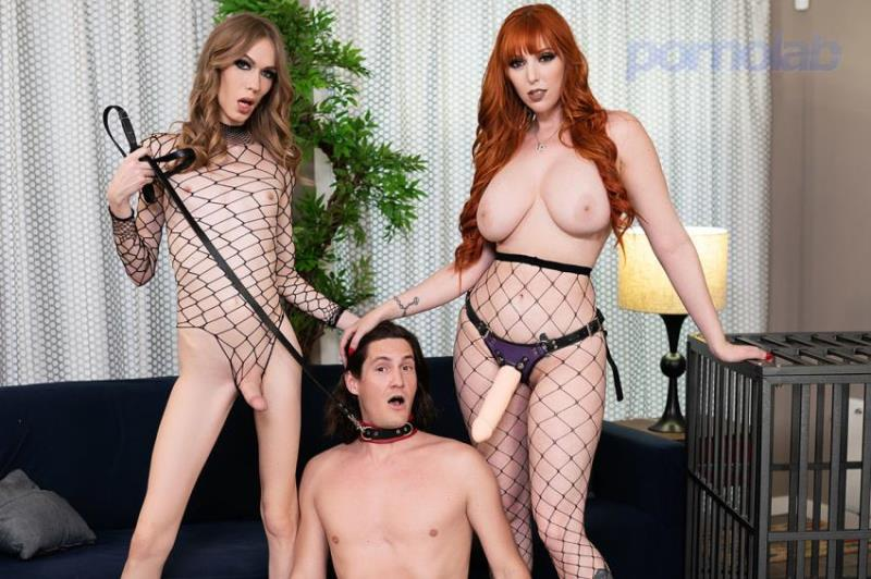 Crystal Thayer, Lauren Phillips, Tony Orlando ~ Piss Off, Wimp! ~ TransAngels.com ~ FullHD 1080p