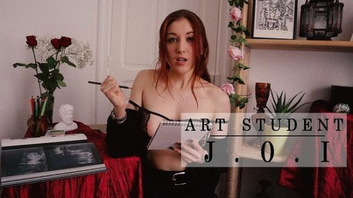 Onlyfans.com: Art student gives you masturbation instructions Starring: Trish Collins