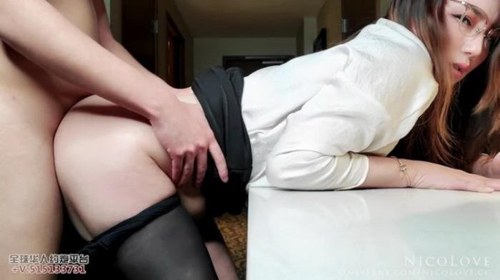 Nico Love - Horny Secretary Serving Her Boss Ended Up Not Having Enough (2021 Porn.com) [FullHD   1080p  851.97 Mb]