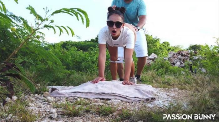 Passion Bunny - Outdoor walk with friend finished again with risky fuck and cumshot in my mouth - PassionBunny (2021 Porn.com) [FullHD   1080p  649.37 Mb]