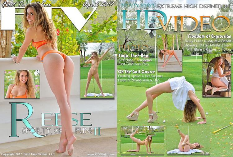 Reese ~ Sporty, Sexy, Fun! ~ FTVGirls ~ FullHD 1080p