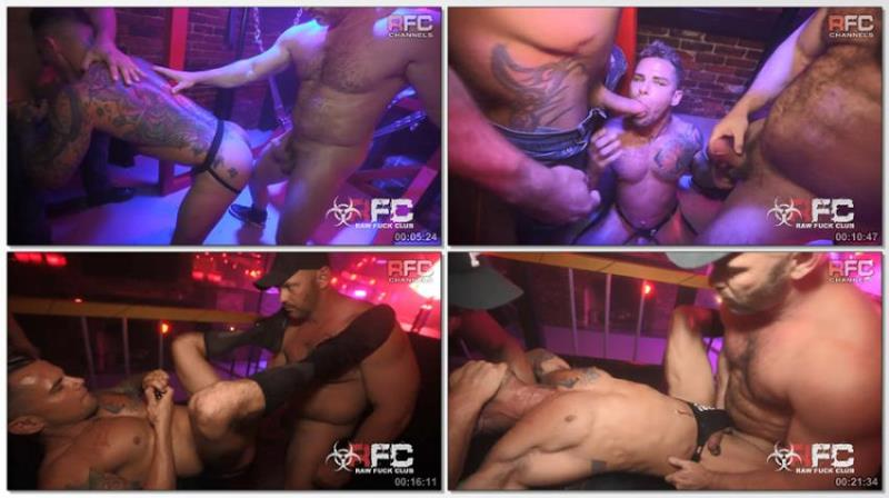 Archer Croft, Owen Hawk, Tyler Roberts ~ Demolition Day ~ RawFuckClub.com ~ HD 720p