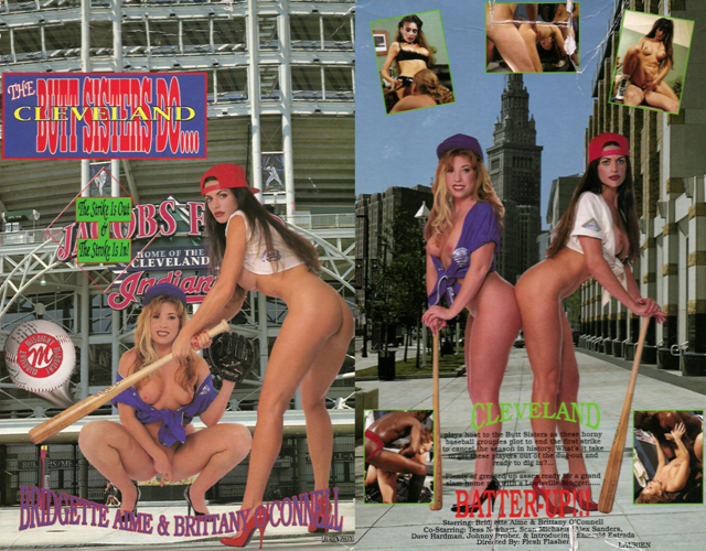 The Butt Sisters Do Cleveland [VHSRip 480p 1.24 Gb]