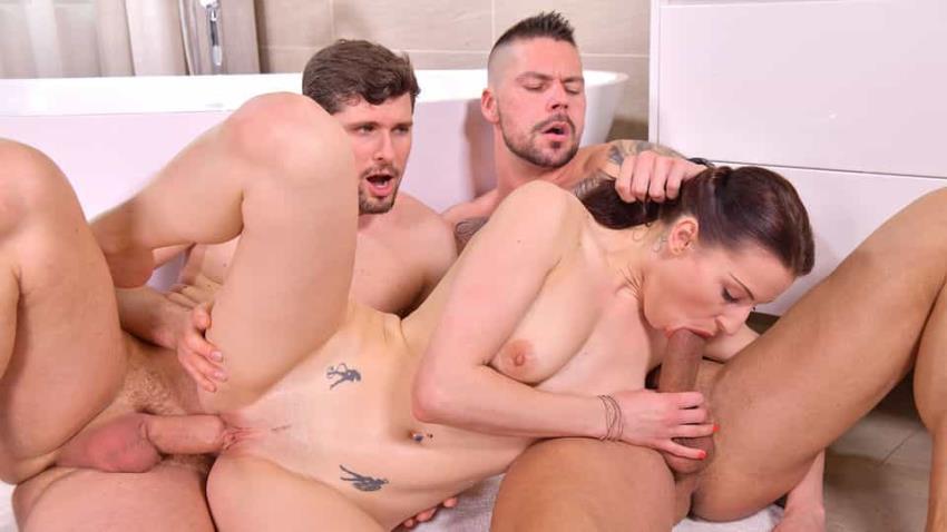 DDFNetwork.com / HandsOnHardcore.com: Victoria Daniels - Cuck Husband Arranges DP Threesome for Cheating Slut Wife Victoria Daniels [FullHD 1080p] (1,99 Gb) - July 23, 2021