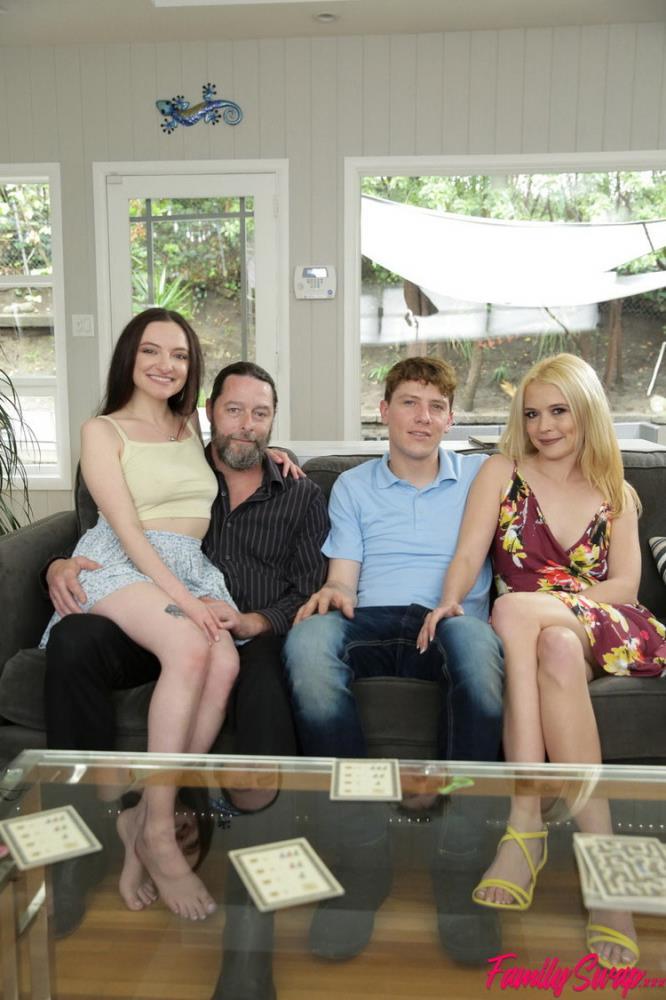 FamilySwap.XXX/Nubiles-Porn - Leia Rae, Tiffany Fox - Family Swap Wife [FullHD 1080p]