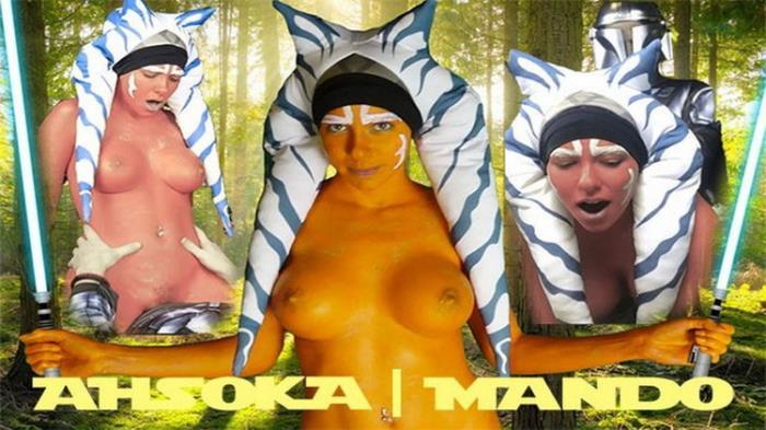 Samantha Flair - Ahsoka Tano Mandalorian Parody Cosplay (2021 Onlyfans.com) [FullHD   1080p  1.22 Gb]