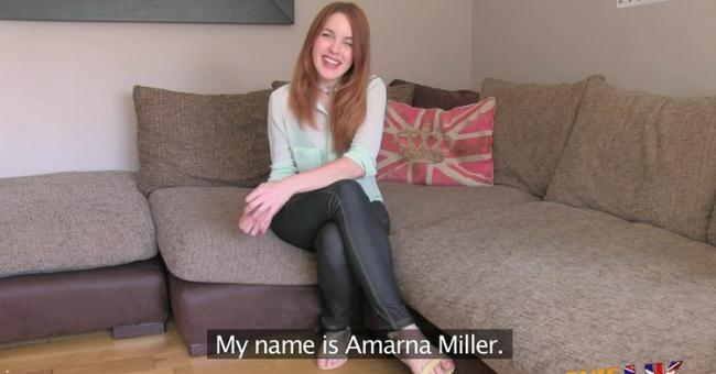 FakeAgentUK.com: Petite Spanish redhead fucks agent good and hard Starring: Amarna Miller