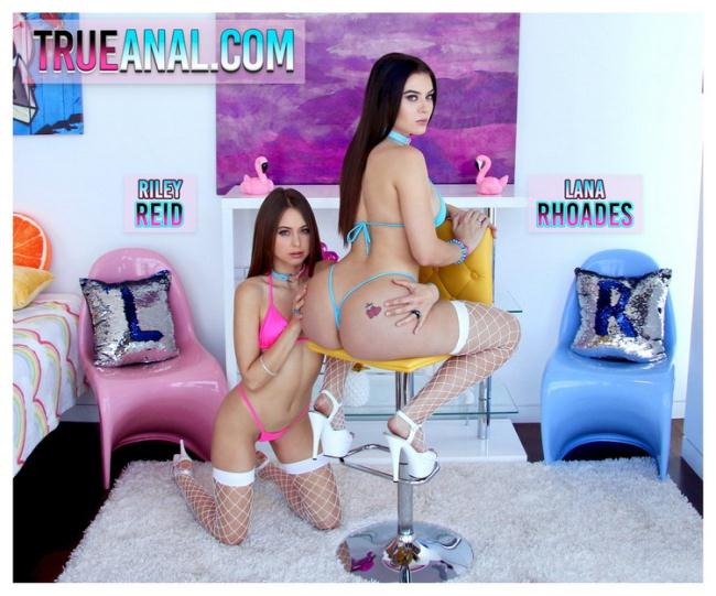 Lana Rhoades - Lana And Riley Team Up (2021 TrueAnal.com) [HD   720p  884.09 Mb]