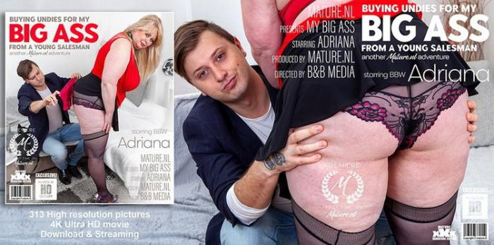 Adriana (47) - Big breasted Adriana wants a young cock to please her (2021 Mature.nl) [FullHD   1080p  1.7 Gb]