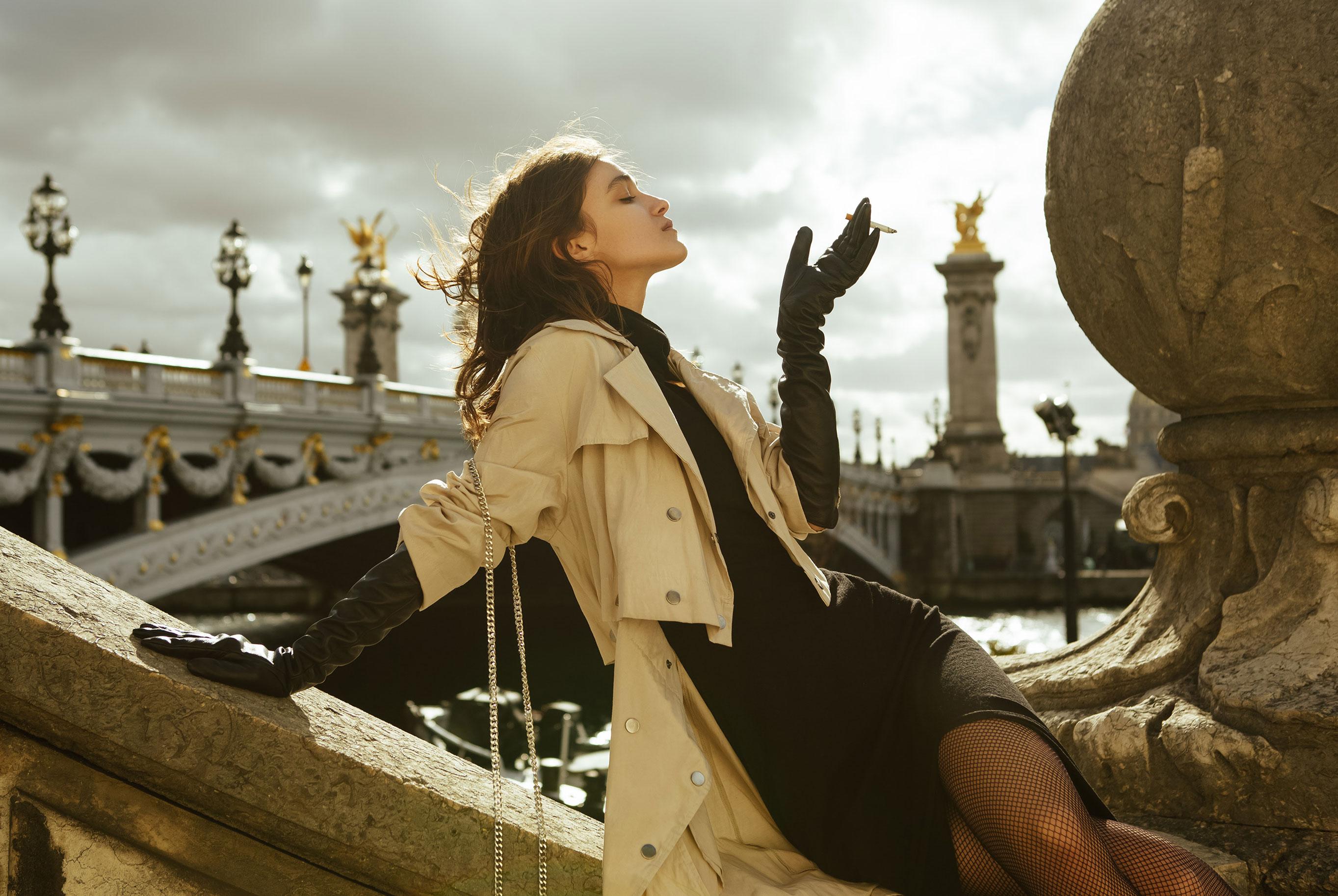 модная Паула гуляет по Парижу / фото 01