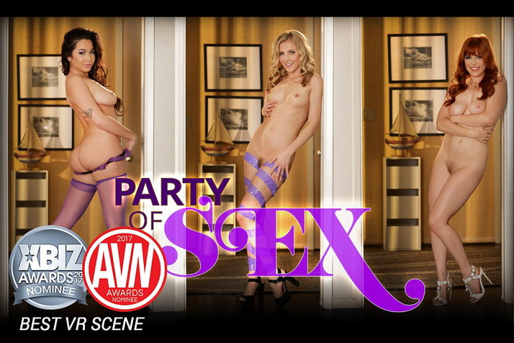 Penny Pax, Karla Kush, Karlee Grey - Party of Sex [HologirlsVR] UltraHD 4K 2160p