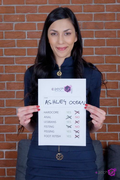 Ashley Ocean - Slim girl in VR Casting (FullHD 1080p) - CzechVRCasting/CzechVR - [2021]