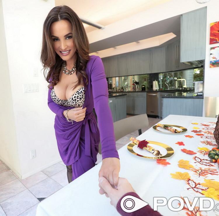 POVD - Lisa Ann - Sex On Thanksgiving [FullHD 1080p]