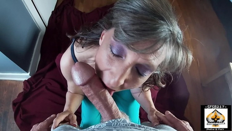 Onlyfans: sfsb217 - Granny Sucks A Big Cock Gets A Big Juicy Mouthful Of Cum [FullHD 1080p] (Mature)