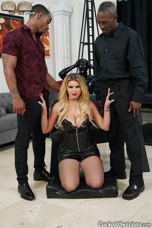 Brooklyn Chase ~ Two Big Black Cock ~ CuckoldSessions/DogFartNetwork ~ FullHD 1080p