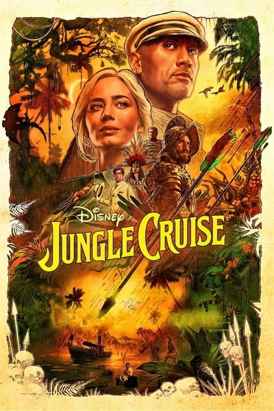 Jungle Cruise 2021 2160p DSNP WEB-DL DDP5 1 Atmos HDR HEVC-CMRG