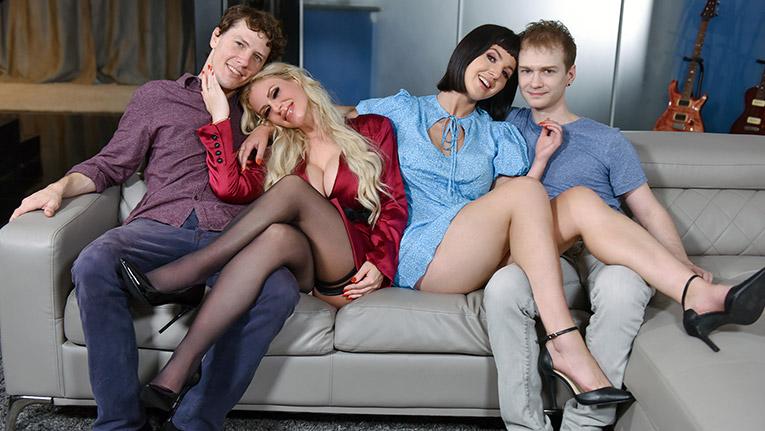 MomSwap.com, TeamSkeet.com - Casca Akashova, Jane Dove