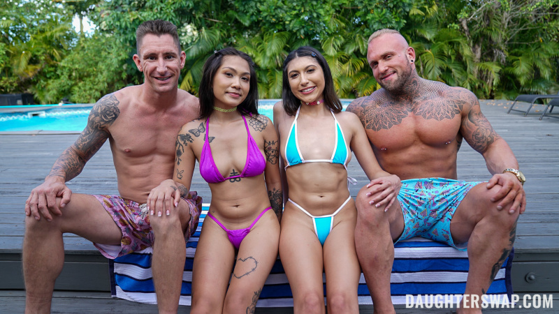 Yumi Sin, Penelope Woods - Learning For Our Stepdads - Learning For Our Stepdads [DaughterSwap.com/TeamSkeet.com] SD 360p