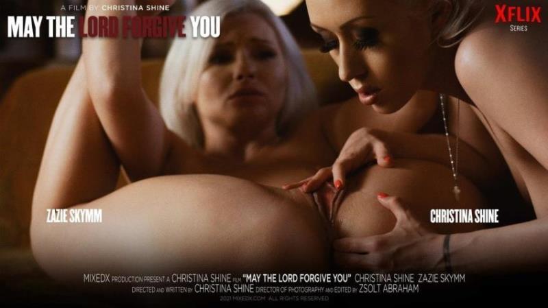 MixedX.com - Christina Shine, Zazie Skymm - May The Lord Forgive You [FullHD 1080p]