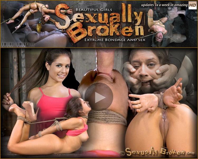 SexuallyBroken - Jynx Maze, Matt Williams - Hot Latino Jynx Maze suffers Rope Bondage is Deep Throated, Roughly Fucked Hogtied, Made to Cum (720p/HD)