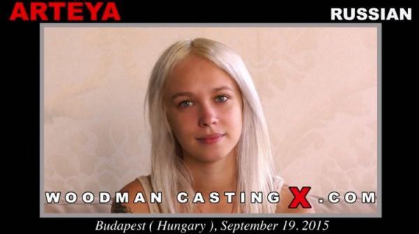 WoodmanCastingX: Arteya - My first time Dped with 2 men (FullHD) - 2021