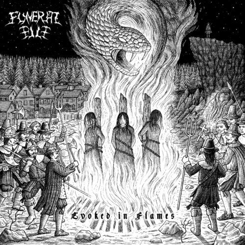 Funeral Pile — Evoked in Flames (2021)