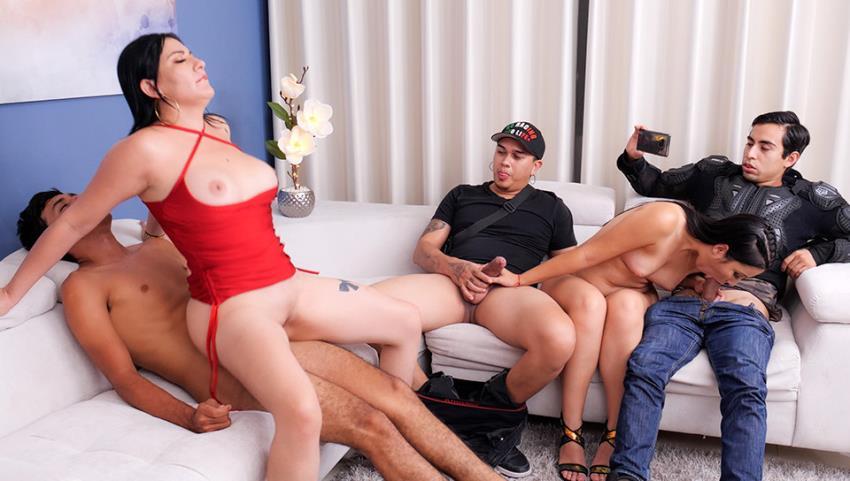 Angie Miller, Teresa Ferrer - Immoral Family Part 4 [SexMex.com / FullHD 1080p] - August 2, 2021