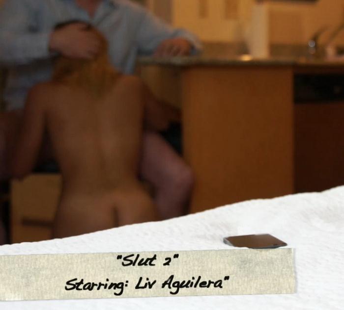 Liv Aguilera - Slut 2 (FullHD 1080p) - Mark's head bobbers and hand jobbers/Clips4Sale - [2021]