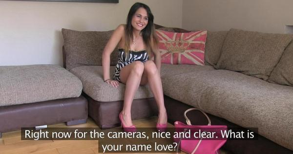 FakeAgentUK/FakeHub: Aida Sweet - Creampie for really hot petite Romanian babe in office casting (HD) - 2021