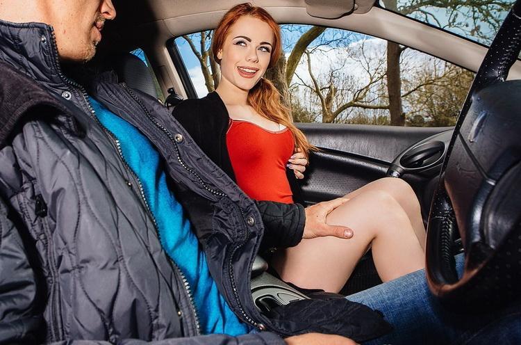 StrandedTeens/Mofos - Ella Hughes - British Redhead Sucks Cock [FullHD 1080p]