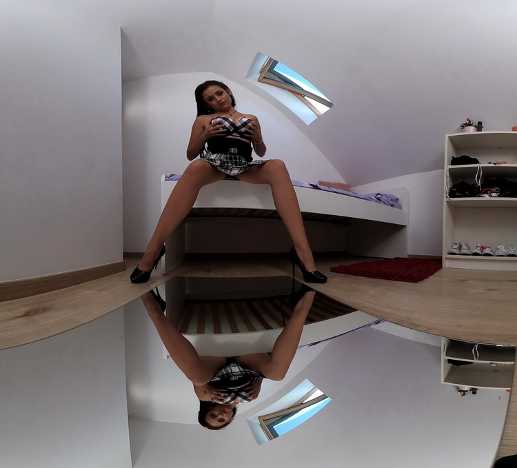 PerVRt - Sherril Collins - Her First Big Cock - Mirror [UltraHD/4K 2160p]