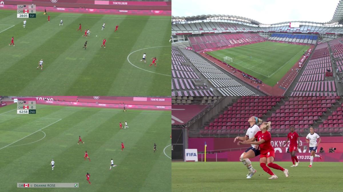 Tokyo Olympics 2020 2021 08 02 Womens Football Semifinal ...
