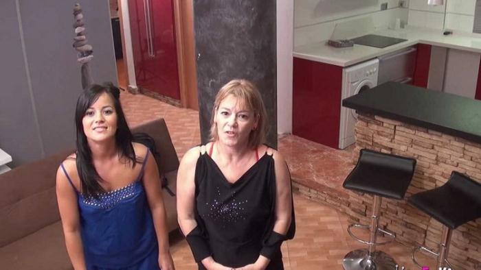 Jazmina y Delia Rosa - Mi mama y yo aprendemos ingles estando de vacaciones (HD 720p) - Fakings - [2021]