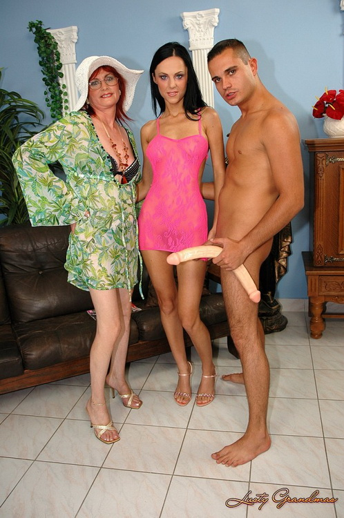 Chrissy, Maxine - Awesome threesome (SD 540p) - LustyGrandmas/21Sextreme/21Sextury - [2021]