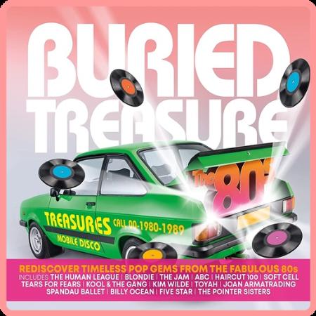 VA - Buried Treasure  The 80s (3CD) (2021) Mp3 320kbps