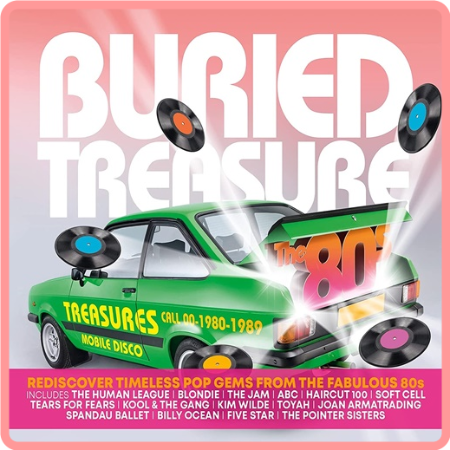 VA - Buried Treasure  The 80s (3CD) (2021) FLAC