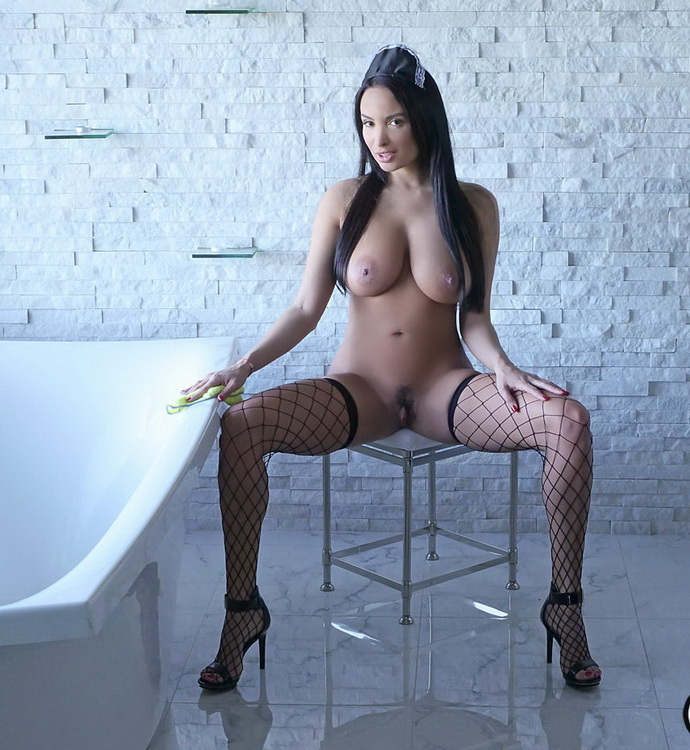 Anissa Kate - Anal Loving French Maid [BigTitsCreamPie/BangBros] HD 720p